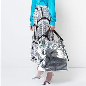 Proenza Schouler large zip hobo bag